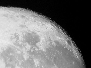 Picture of the moon from 2007-10-23